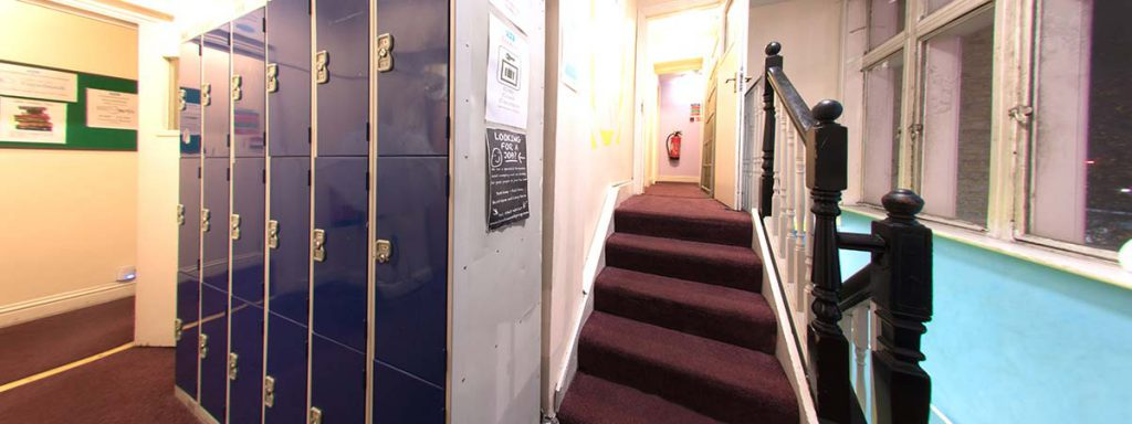 Security Lockers - New Cross Inn Hostel